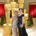 Sara Nesson, director of POSTER GIRL and Robynn Murray the poster girl, 2010 Academy Awards